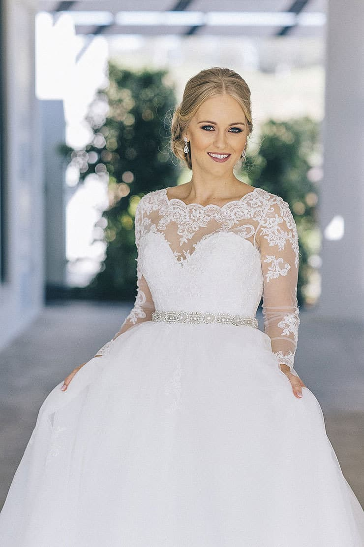 22 stunning wedding dresses for every bridal style for Made with love wedding dresses
