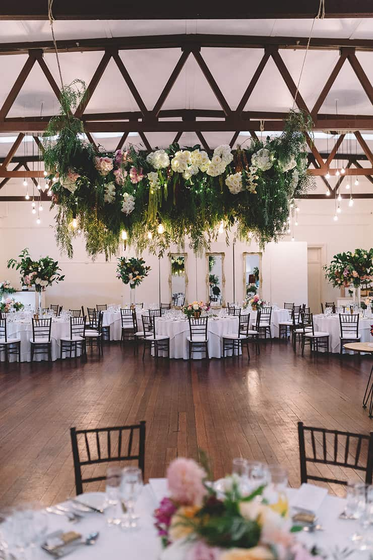 Wedding Reception In Vintage Dining Room With Fl Dance Floor Canopy Vanessa Norris Photography