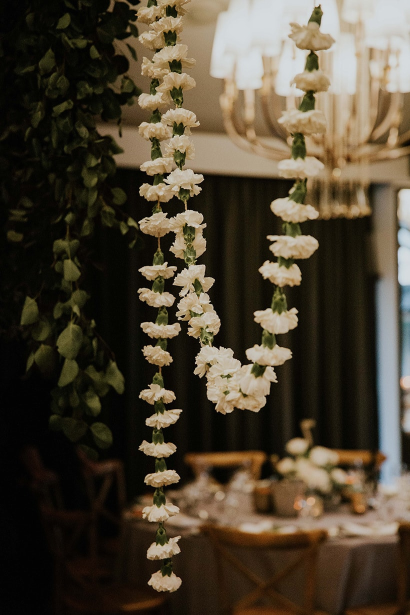 Dominique & Cody's Chic Romantic Wedding Draped in Flowers | Alex Jackson Photography