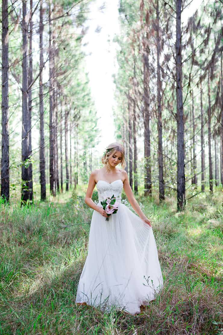 Romantic Woodland Wedding Inspiration