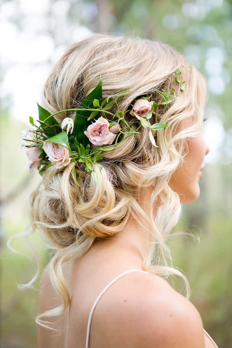 Heavenly Wedding Hair Ideas Lindy Yewen Photography