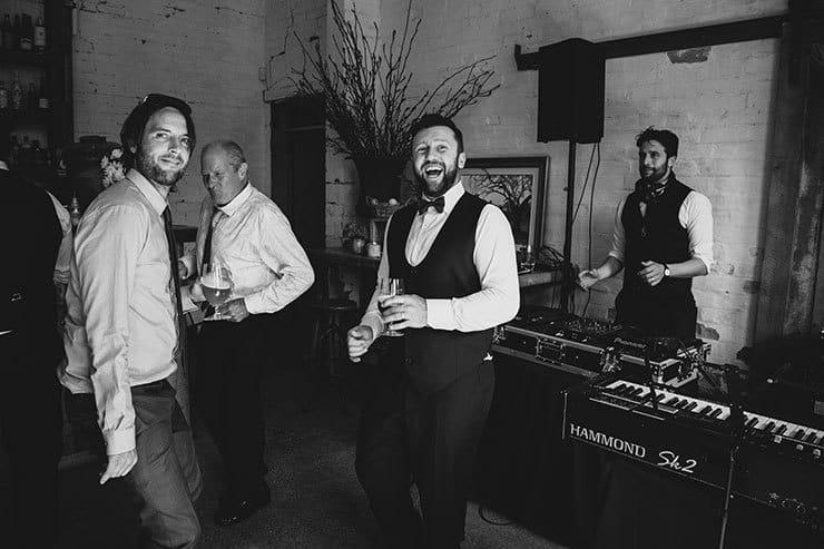 Romantic-Woodland-Wedding-Reception-Venue-DJ-Entertainment-Groom