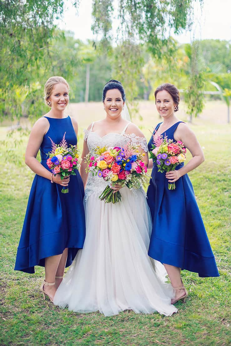 A Royal Blue Country Wedding with Colourful Blooms |Madelyn Holmes Photographics