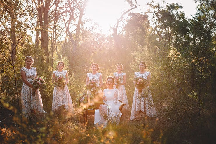 Rustic Australian Bush Wedding | Popcorn Photography