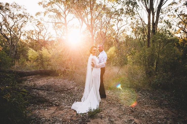 Ang & Geoff's Vintage Australian Bush Wedding
