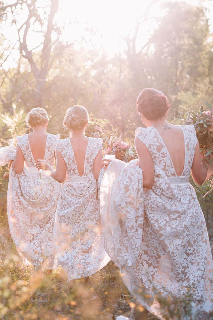 A Rustic Australian Bush Wedding The Wedding Playbook