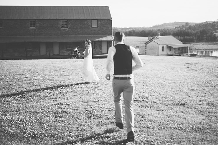 Rustic-Burgundy-Country-Wedding-Bride-Groom-Portrait-Black-White-3