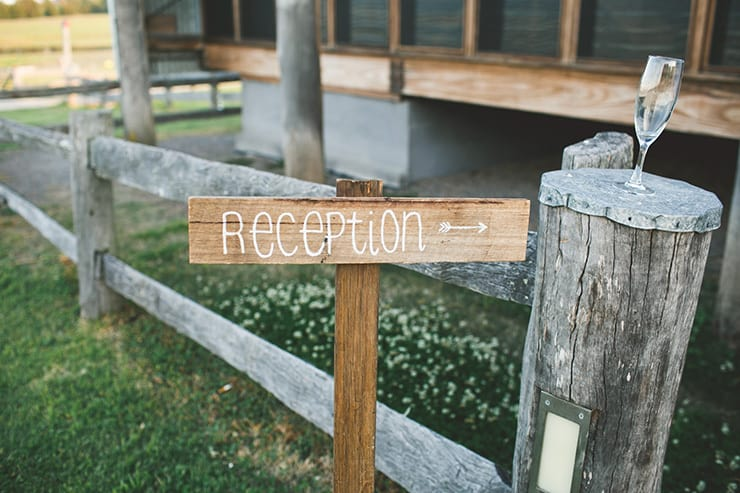 Rustic-Burgundy-Country-Wedding-Reception-Sign