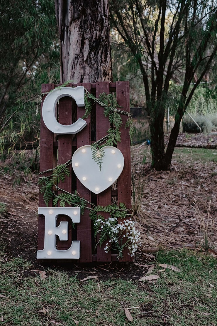 Emmalee and Claye's Rustic Cocktail Wedding | The Stache Photography