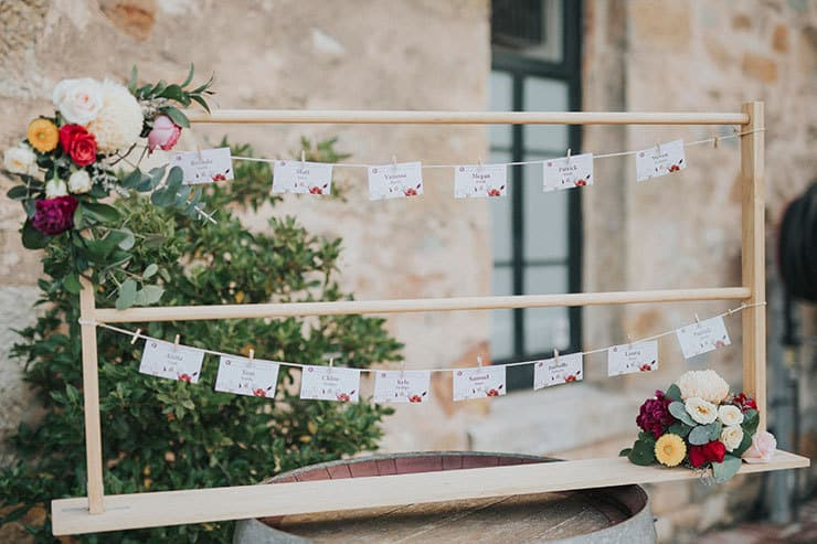 Rustic Floral Wedding Inspiration with Copper Highlights| Chloe Tanner Photography
