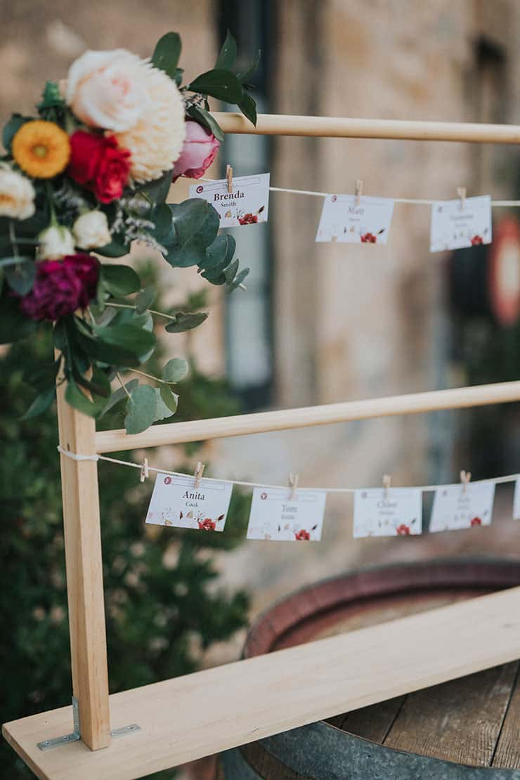 Rustic Floral Wedding Inspiration with Copper Highlights | Chloe Tanner Photography