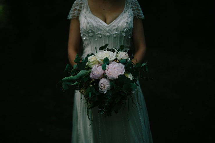 Rustic-Meets-Gatsby-Wedding-Bride-Bouquet
