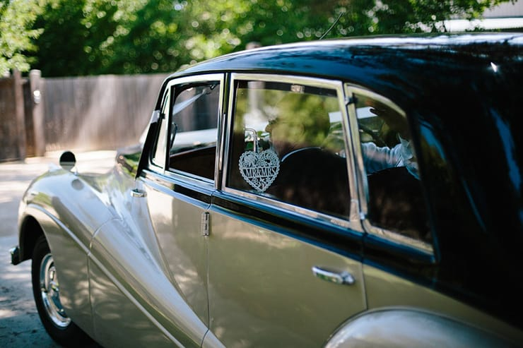 Rustic-Meets-Gatsby-Wedding-Car