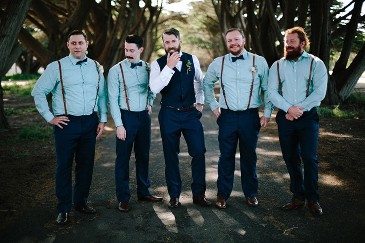Rustic-Meets-Gatsby-Wedding-Groom-Groomsmen