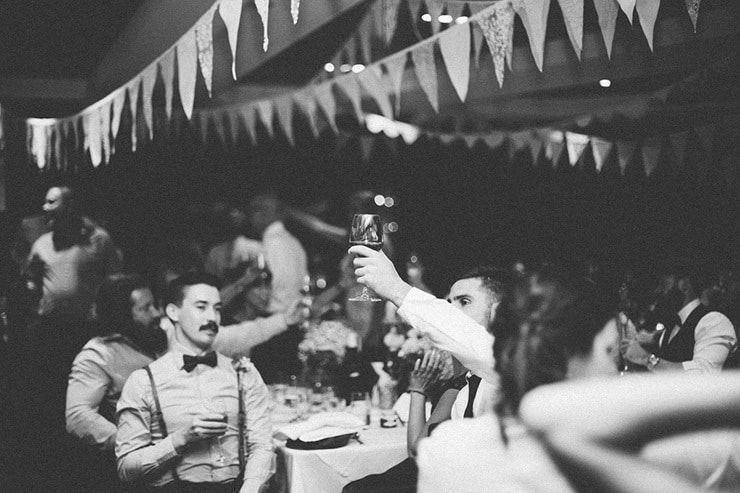 Rustic-Meets-Gatsby-Wedding-Reception-Cheers