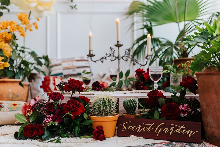 Secret Garden Bridal Shower Inspiration | Samantha Heather Photography