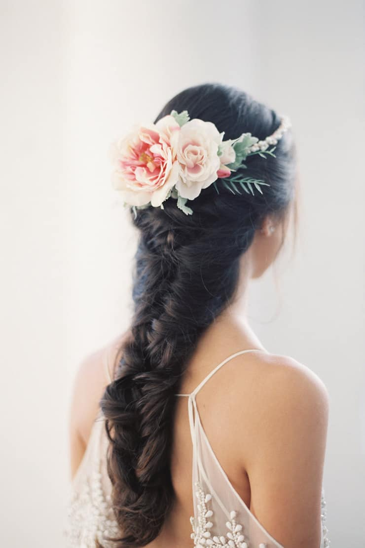 Silk Flower Headpiece