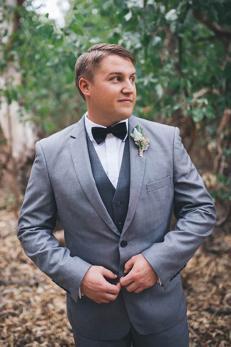 Silver-and-Navy-Outdoor-Cocktail-Wedding-Groom-Suit-2 - The ...