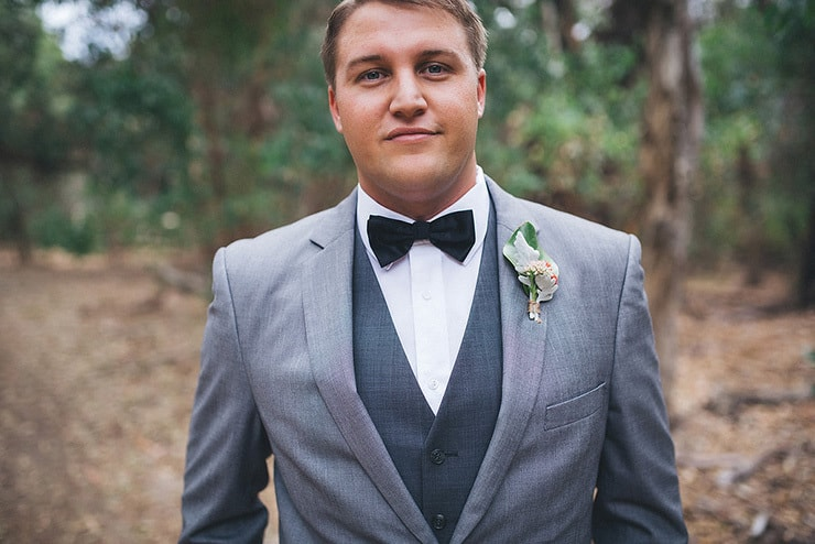 Silver-and-Navy-Outdoor-Cocktail-Wedding-Groom-Suit - The Wedding ...
