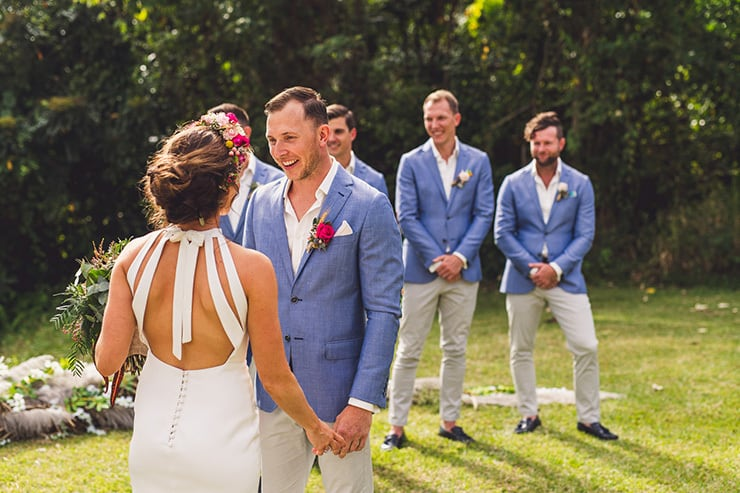 Sinead and Chris' Chic Tropical Wedding   Matthew Evans Photography