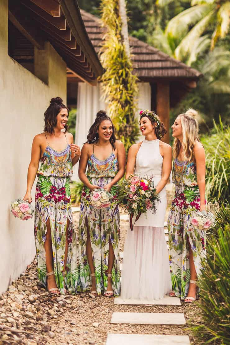 Sinead Amp Chris Chic Tropical Wedding