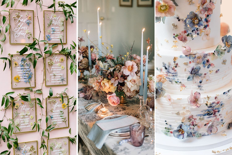 Spring Pastel Wedding Ideas
