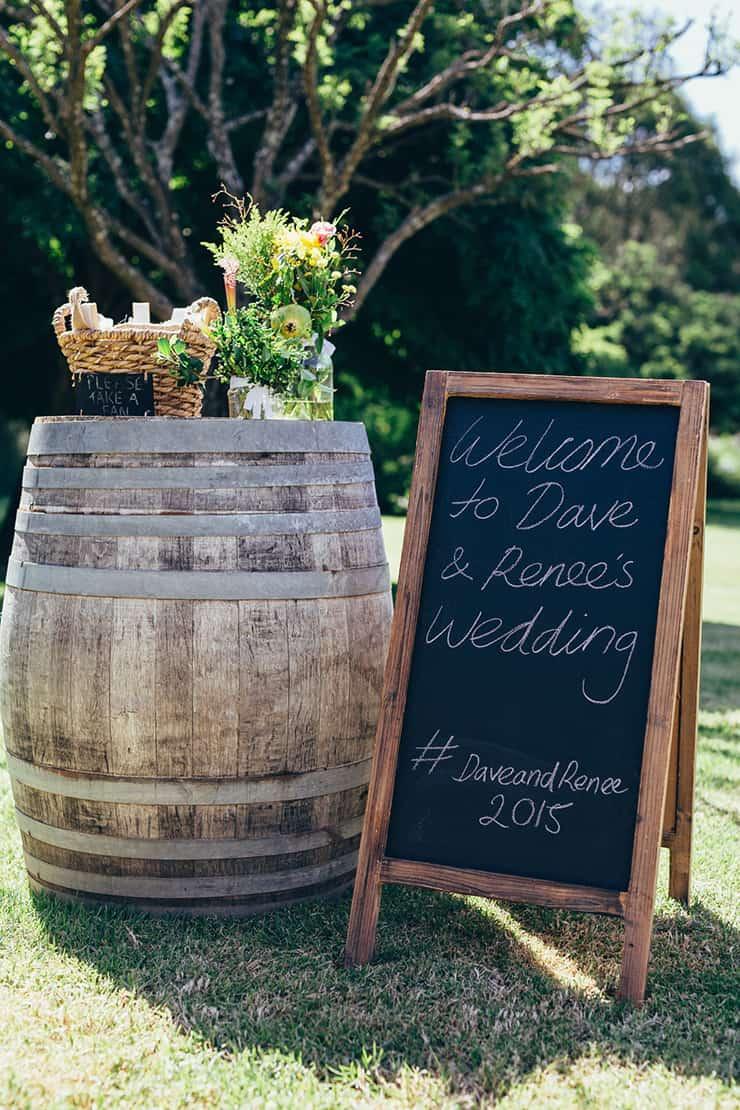 Stylish Estate Wedding