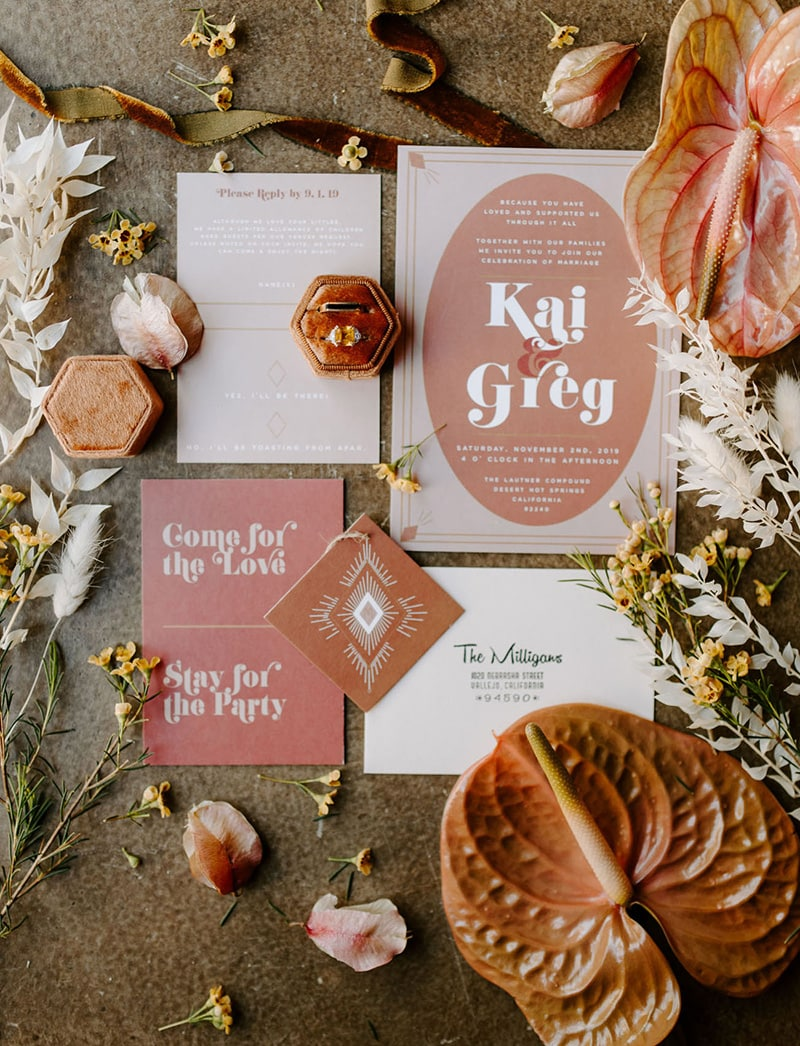"""Romantic Boho Terracotta Wedding Ideas 