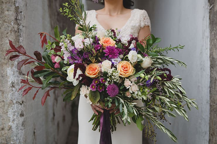 Tuscan-Plum-Wedding-Inspiration-Bouquet-3