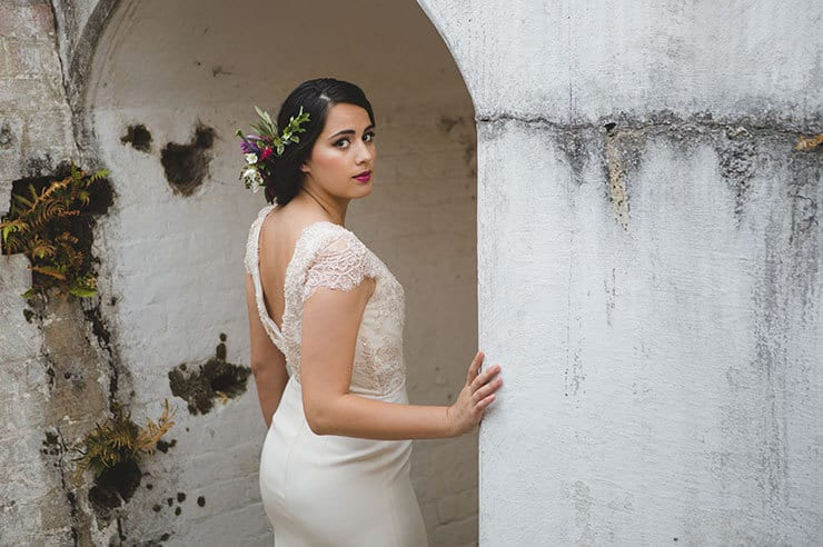 Tuscan-Plum-Wedding-Inspiration-Bride-Hair-Makeup