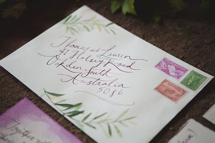 Tuscan-Plum-Wedding-Inspiration-Stationery-2