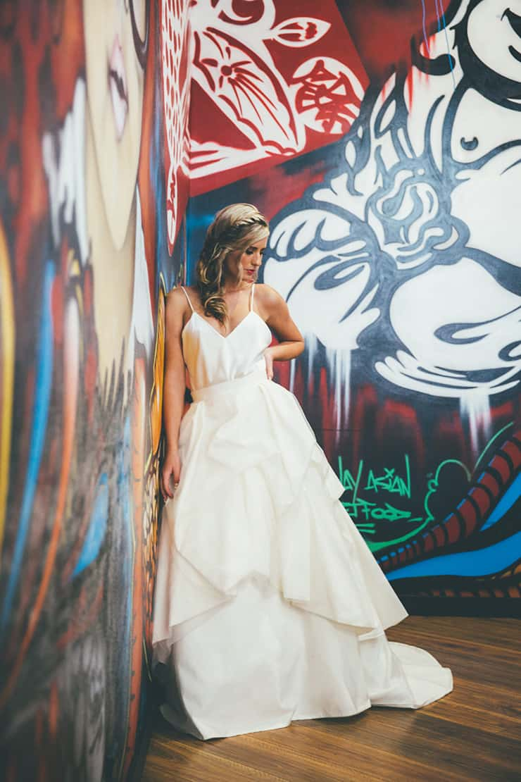 Urban Minimalist Wedding Inspiration | Klee Photography