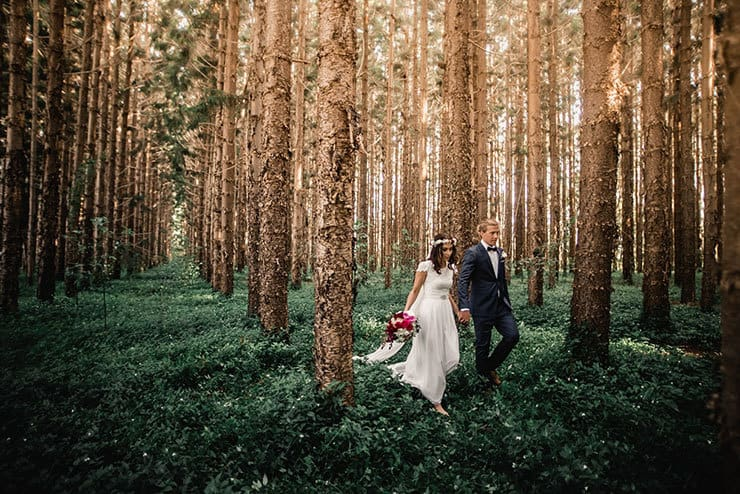 Rhiannon & Miles' Vibrant & Heartfelt Bohemian Wedding