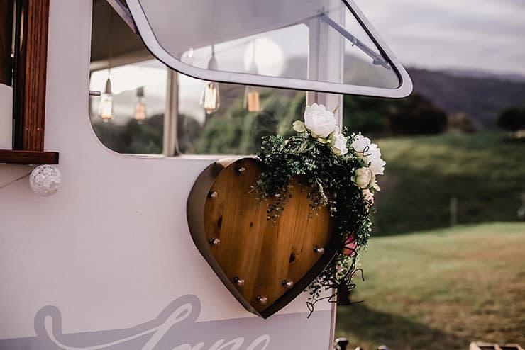 Vibrant-Heartfelt-Bohemian-Wedding-Reception-Drinks-Caravan