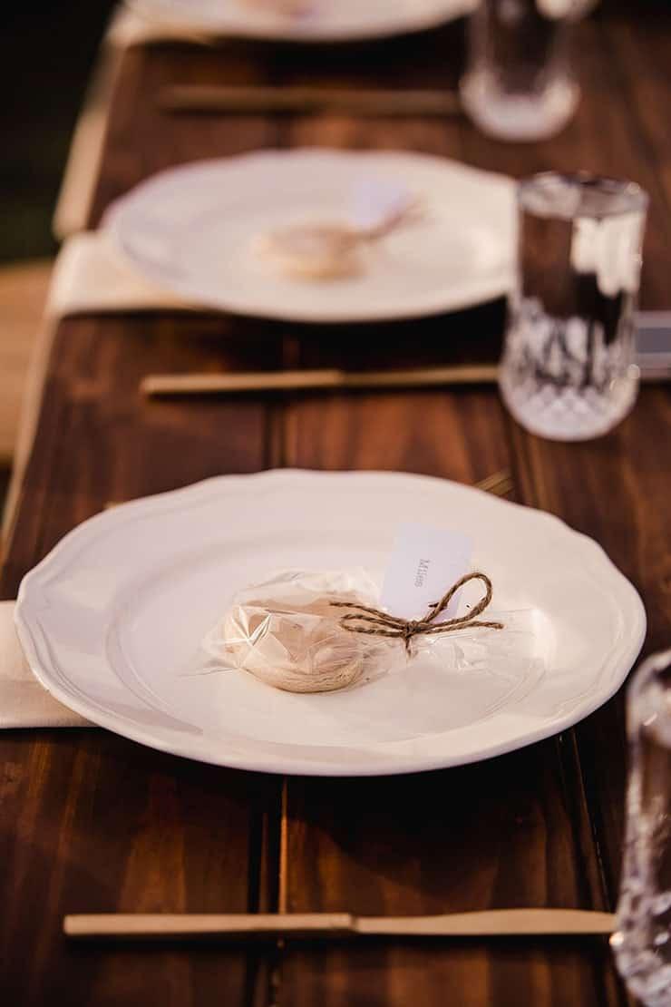 Vibrant-Heartfelt-Bohemian-Wedding-Reception-Table-Setting-Bonbonnieres