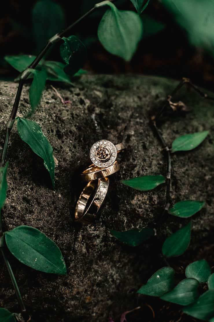 Vibrant-Heartfelt-Bohemian-Wedding-Rings