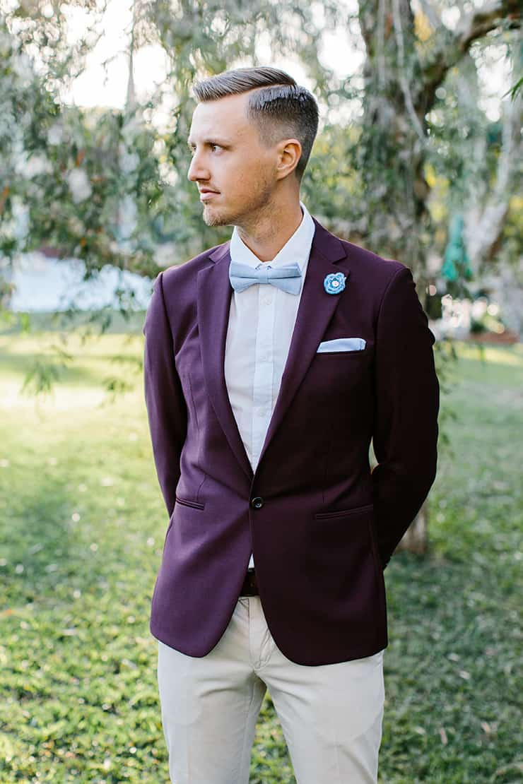 vibrant-summer-garden-wedding-inspiration-groom-suit-2 - The ...