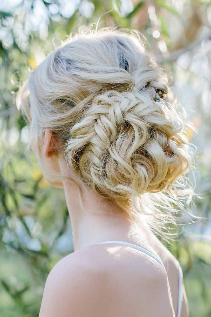 Heavenly Wedding Hair Ideas | Camilla Kirk Photography