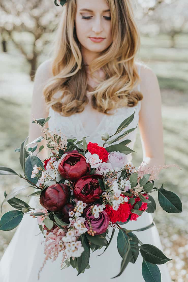 Sensational Bridal Bouquets | Chloe Tanner Photography