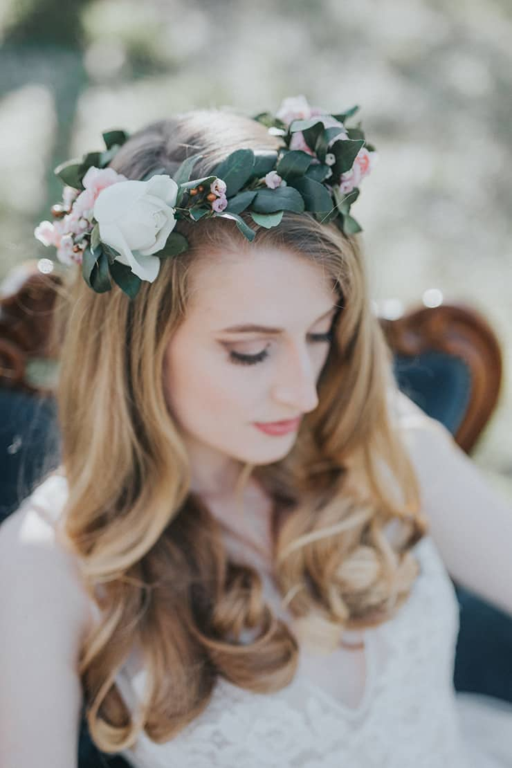 Vintage Boho Wedding Inspiration In A Blossoming Almond Grove Bride
