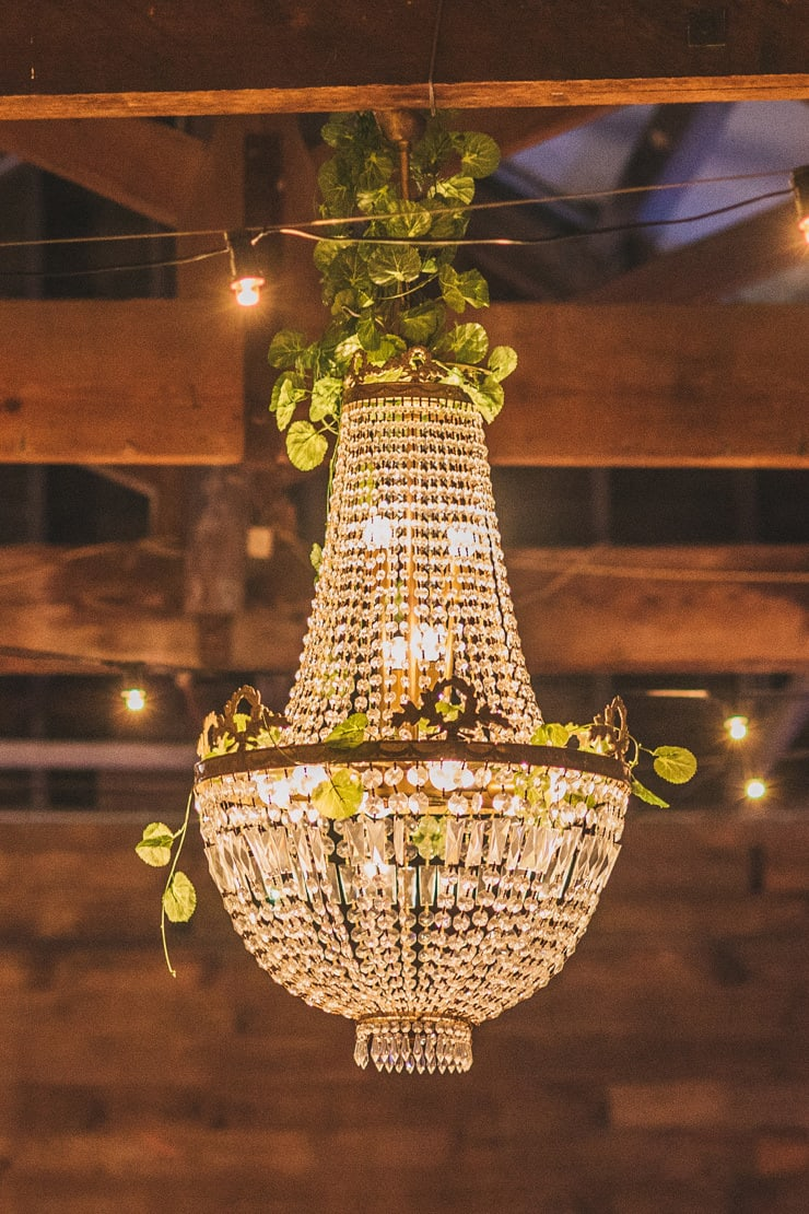 Vintage-Coastal-Wedding-Chandelier