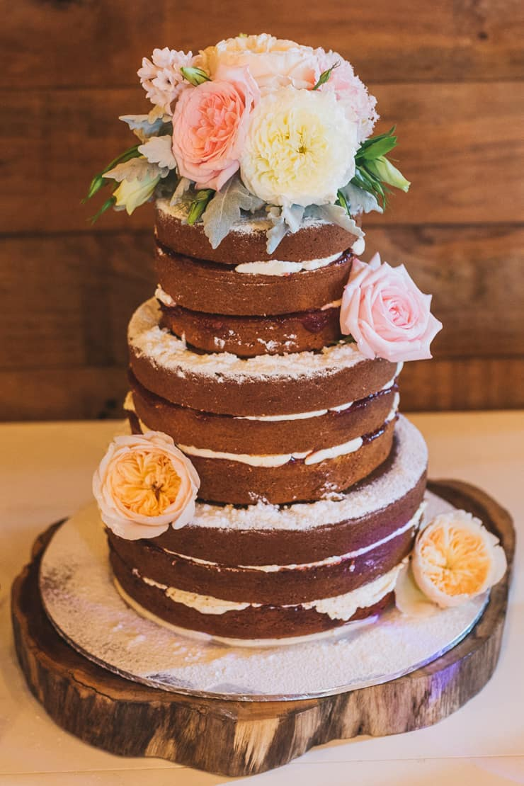 Vintage-Coastal-Wedding-Naked-Cake