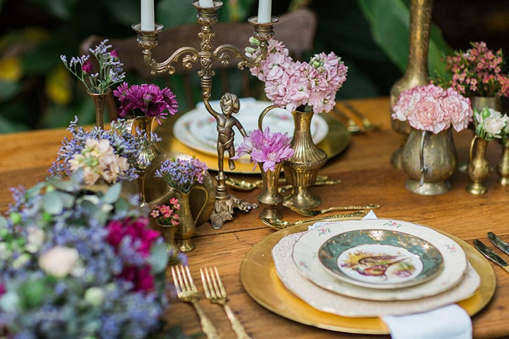 Vintage Floral Wedding Inspiration