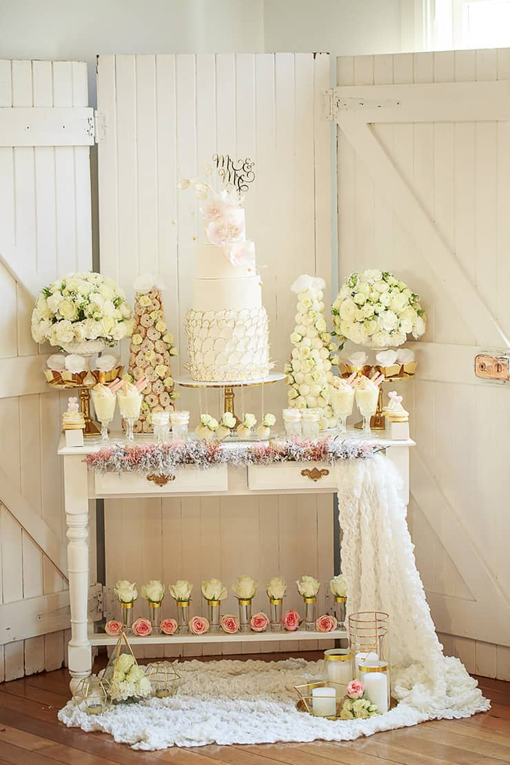 Cake Table Ideas For Baptism