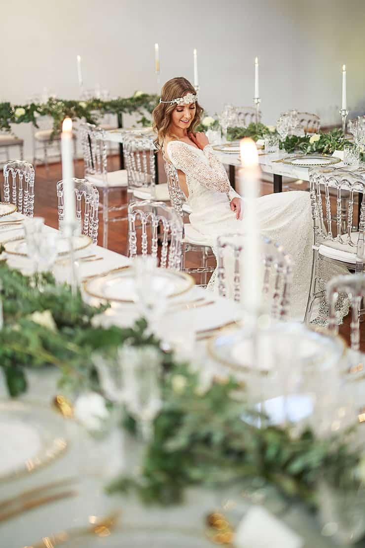 Vintage Glam Wedding Inspiration | Jason Soon Photography