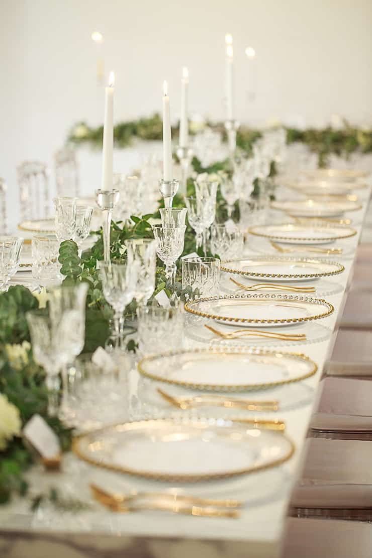 Gorgeous Wedding Reception Centrepiece Ideas | Jason Soon Photography
