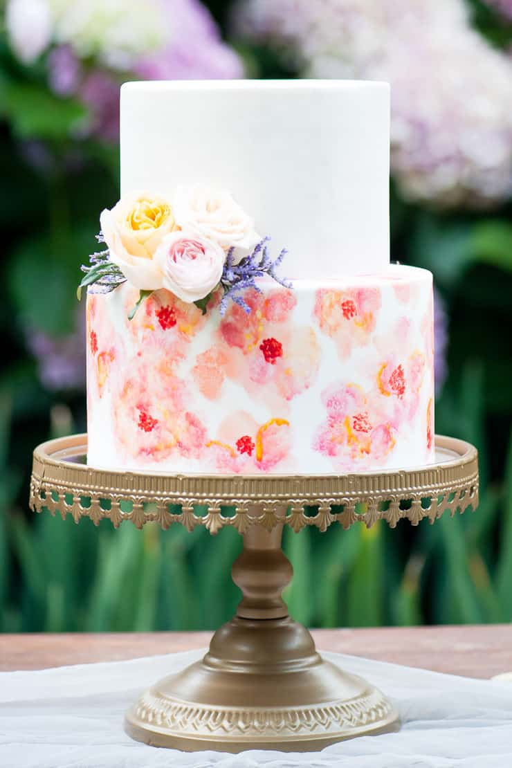 Creative Wedding Cakes | Liesel Cheney Photography