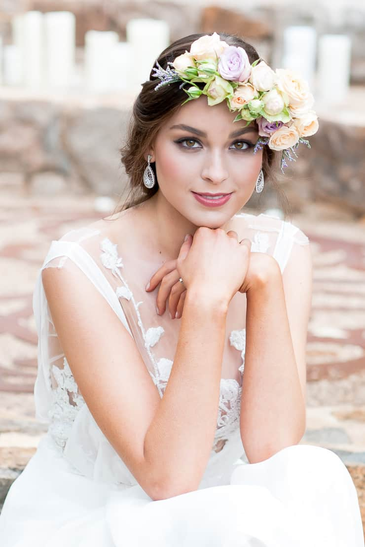 Heavenly Wedding Hair Ideas | Liesl Cheney Photography