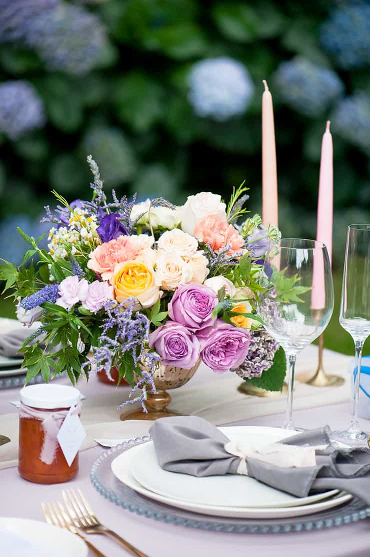 Gorgeous Wedding Reception Centrepiece Ideas | Liesl Cheney Photography