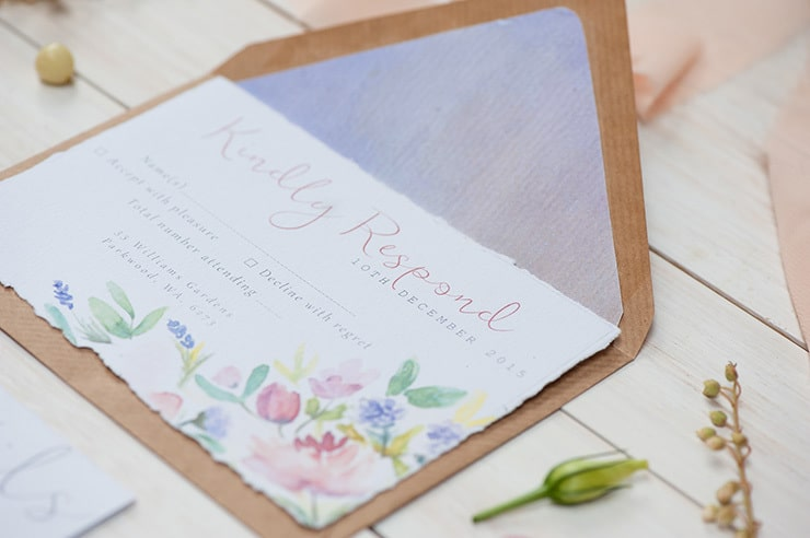 Watercolour-Garden-Wedding-Inspiration-Stationery-RSVP